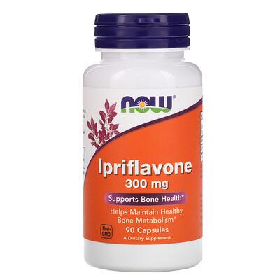 Купить Now Foods Иприфлавон, 300 мг, 90 капсул