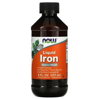 Now Foods, Liquid Iron, 8 fl oz (237 ml)