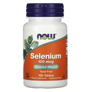 Now Foods, Selenium, 100 mcg, 100 Tablets отзывы