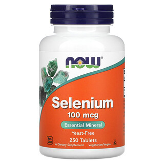 Now Foods, Selenium, 100 mcg, 250 Tablets