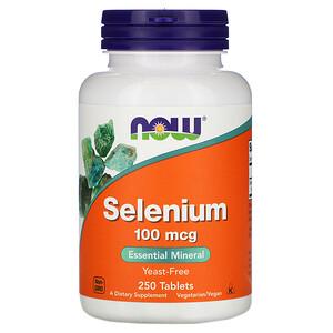 Now Foods, Selenium, 100 mcg, 250 Tablets отзывы