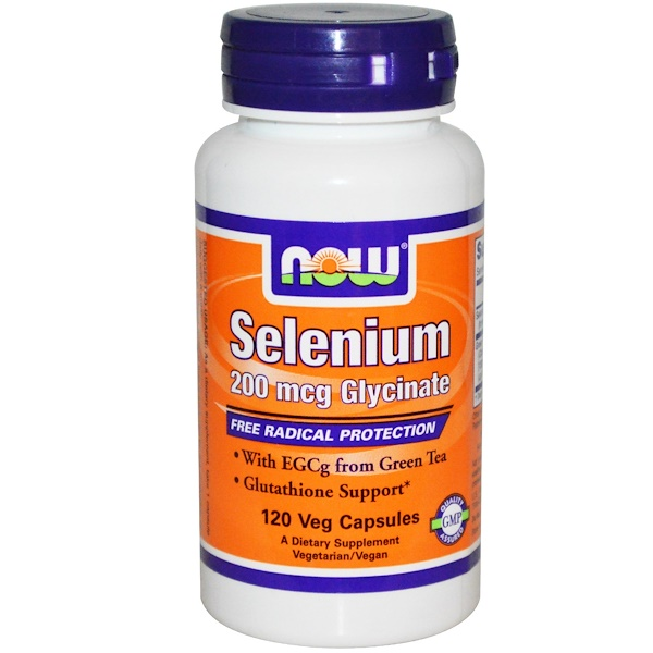 Now Foods, Selenium, 200 mcg, 120 Veggie Caps (Discontinued Item)