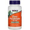 Now Foods, Picolinate de zinc, 50mg, 120capsules végétariennes