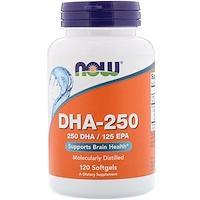 DHA-250/EPA-125, 120 мягких таблеток - фото