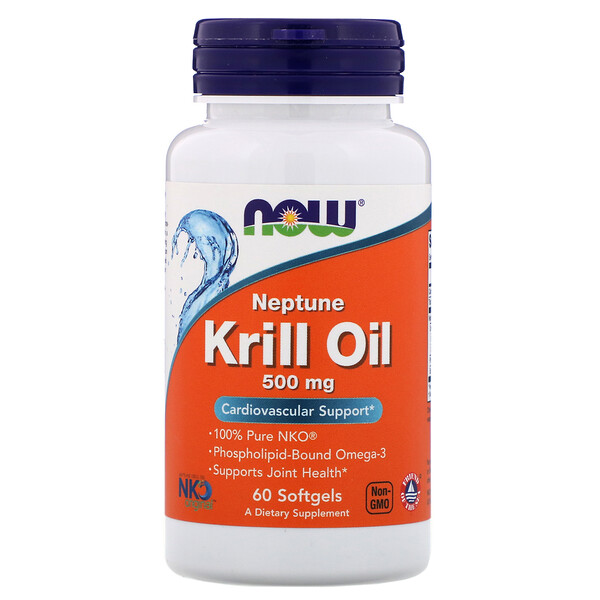 Neptune Krill Oil, 500 mg, 60 Softgels