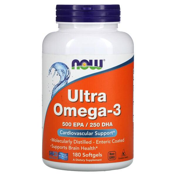 Ultra Omega-3, 180 Softgels