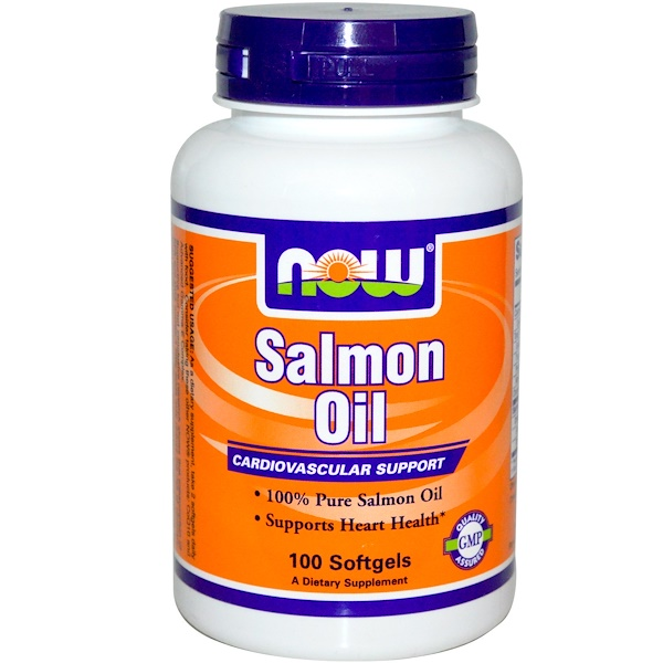Now Foods, Salmon Oil, 100 Softgels (Discontinued Item)