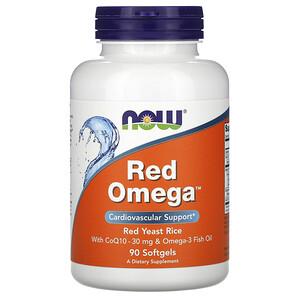 Now Foods, Red Omega, 90 Softgels отзывы