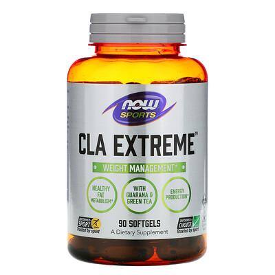 Now Foods CLA Extreme, добавка для физической активности, 90капсул