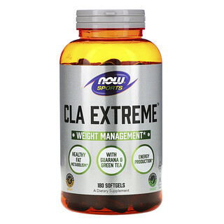 Now Foods, Sports, CLA Extreme, 180 Softgels