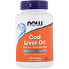 Now Foods, Cod Liver Oil, Extra Strength , 1,000 mg, 90 Softgels