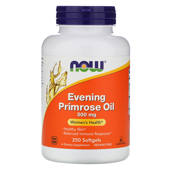 Evening Primrose Oil, 500 mg, 250 Softgels