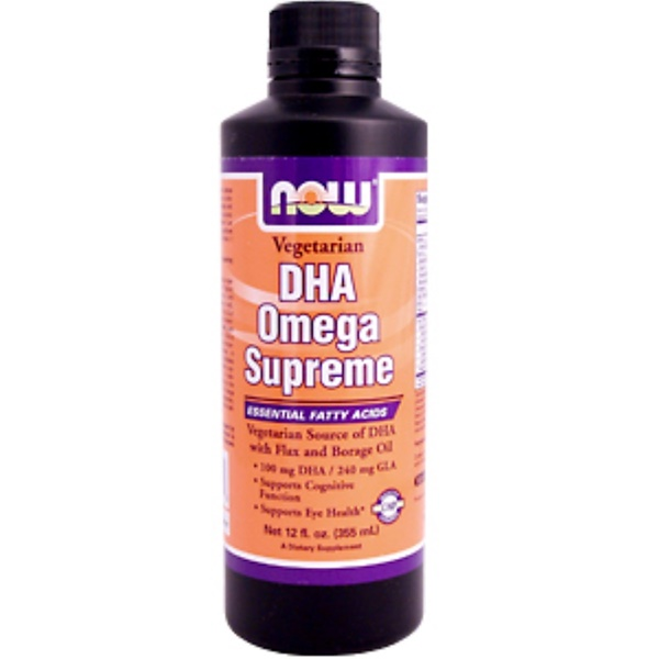 Now Foods, DHA Omega Supreme, 12 fl oz (355 ml) (Discontinued Item)