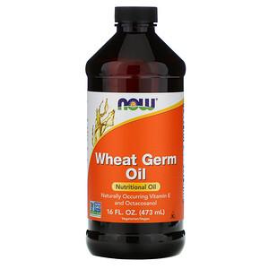 Now Foods, Wheat Germ Oil, 16 fl oz (473 ml) отзывы