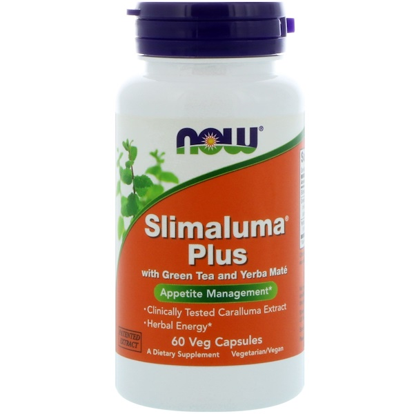 Now Foods, Slimaluma Plus, 60 Veg Capsules (Discontinued Item)