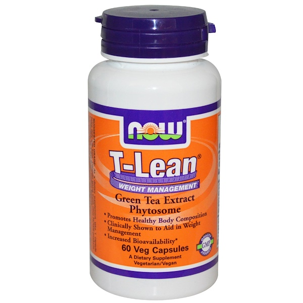 Now Foods, T-Lean Weight Management, 60 Veggie Caps (Discontinued Item)