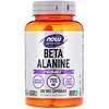 Now Foods, Sports, Beta-Alanine, Endurance, 750 mg, 120 Veg Capsules