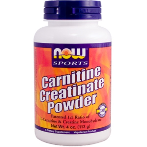 Now Foods, Carnitine Creatinate Powder, 4 oz (113 g) (Discontinued Item)