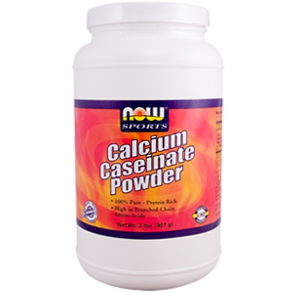 Now Foods, Calcium Caseinate Powder, 2 lbs. (907 g) (Discontinued Item)