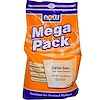 Now Foods, Mega Pack, Carbo Gain, 100% Complex Carbohydrate, 12 lbs (5.45 kg) (Discontinued Item)