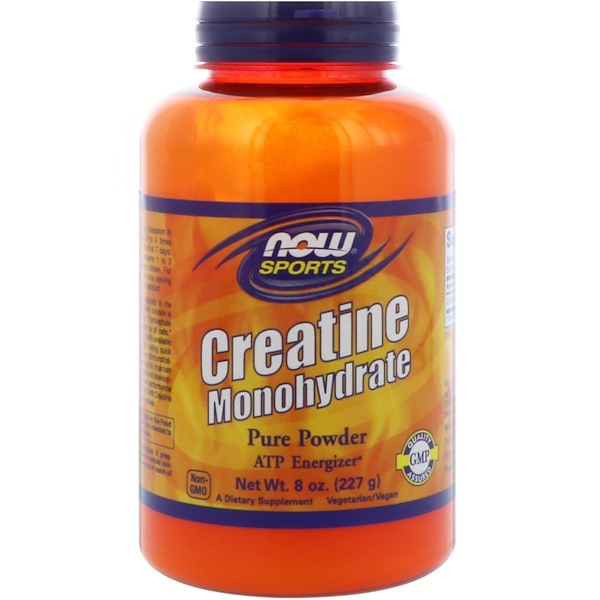 Now Foods, Sports, Creatine Monohydrate, Pure Powder, 8 oz (227 g)