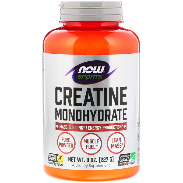 Sports, Creatine Monohydrate, Pure Powder, 8 oz (227 g)