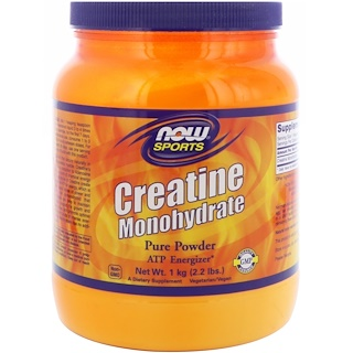 Now Foods, Sports, Creatine Monohydrate, Pure Powder, 2.2 lbs (1 kg)