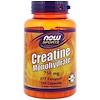 Now Foods, スポーツ, クレアチンモノハイドレート, 750 mg, カプセル120粒