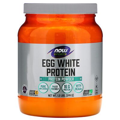 Протеин из яичного белка, протеиновый порошок, 544г (1,2фунта)