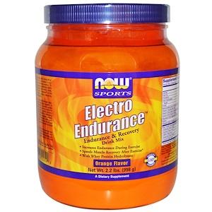 Now Foods, Electro Endurance, Orange Flavor,  2.2 lbs (998 g) отзывы
