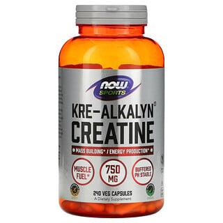 Now Foods, スポーツ、クレアルカリンクレアチン、240 錠