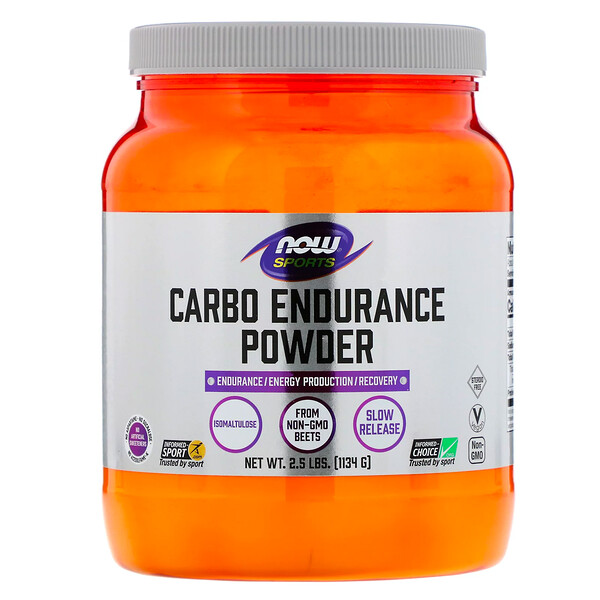 Now Foods, Sports, Carbo Endurance Powder, 2.5 lbs (1,134 g) (Discontinued Item)