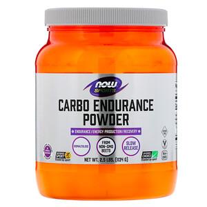 Now Foods, Sports, Carbo Endurance Powder, 2.5 lbs (1,134 g) отзывы