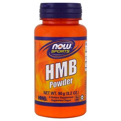Спортивное питание, гидроксиметилбутират в форме порошка, 3,2 унции (90 г)