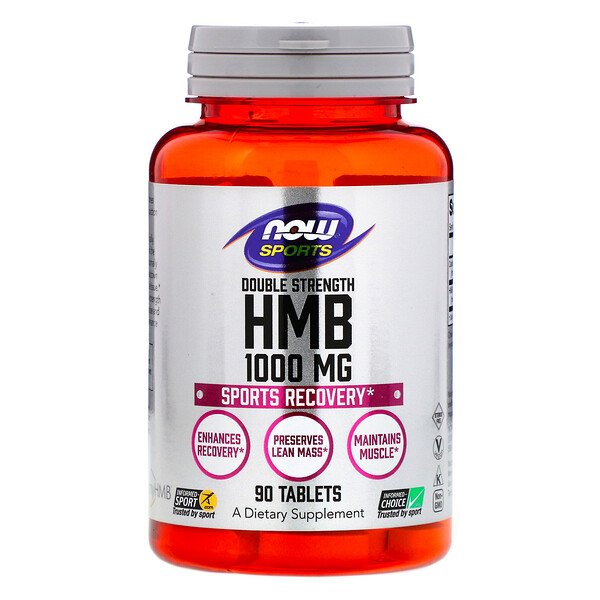 Sports, HMB, Double Strength, 1,000 mg, 90 Tablets