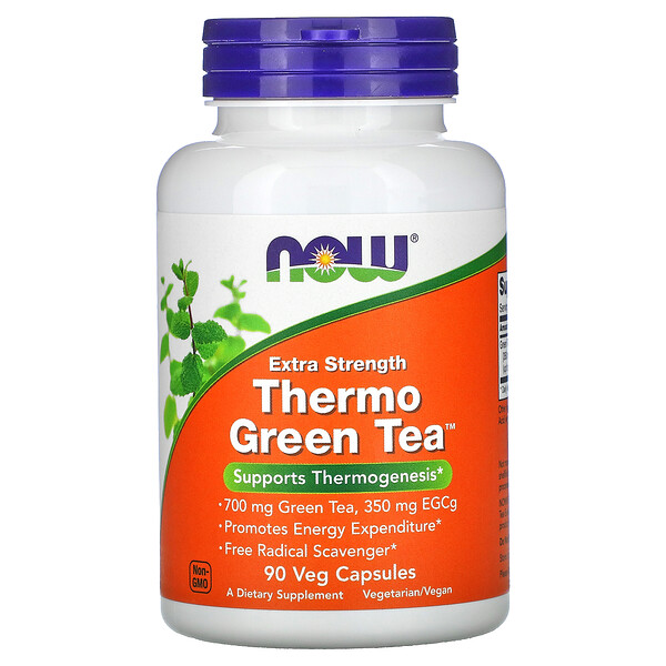 Thermo Green Tea, 90 cápsulas vegetarianas