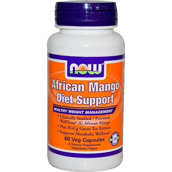 Now Foods, African Mango Diet Support, 60 Veggie Caps (Discontinued Item)