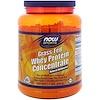 Now Foods, グラスフェッド(牧草飼育)ホエイプロテインコンセントレート、天然 無香料、1.2ポンド (544 g)