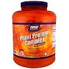 Now Foods, Sports, Plant Protein Complex, Chocolate Mocha, 6 lbs. (2722 g)
