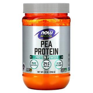 Now Foods, Sports, Proteína de guisante, Pura y sin sabor, 340g (12oz)
