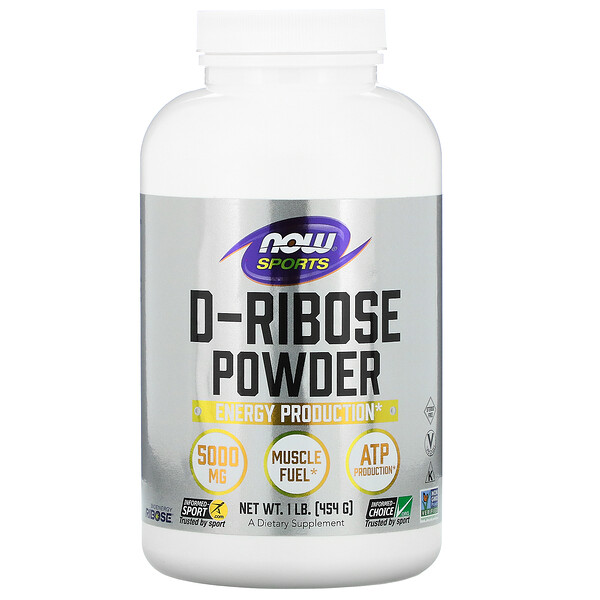 Sports, D-Ribose Powder, 1 lb (454 g)