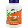 Now Foods, TestoJack 100, 120 Veg Capsules