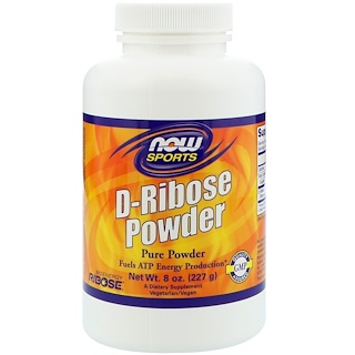 Now Foods, Sports, D-Ribose Powder, 8 oz (227 g)