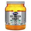 Now Foods, Sports, Soy Protein Isolate, Unflavored, 1.2 lbs (544 g)