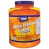 Now Foods, Sports, Whey Protein Isolate, Natural Vanilla, 5 lbs. (2268 g)