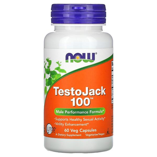 TestoJack 100، 60 كبسولة نباتية
