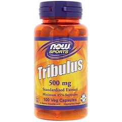 Now Foods, Tribulus, 500 mg, 100 Veg Capsules