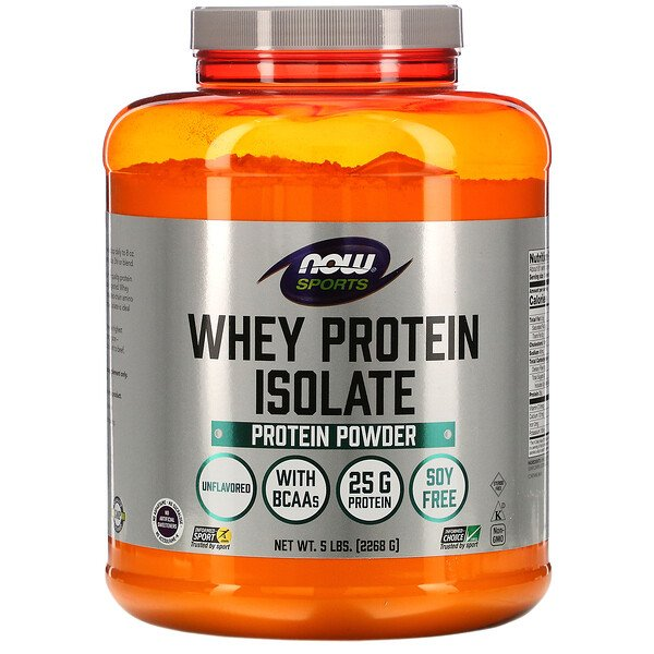 Now Foods, بروتين مصل اللبن المعزول لممارسة الرياضة، 5 رطل (2268 جم)
