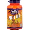 Now Foods, Sports, MCTオイル, 1000 mg, ソフトジェル150粒