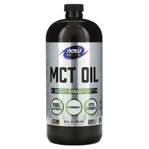 Now Foods, Sports, MCT Oil, 32 fl oz (946 ml)